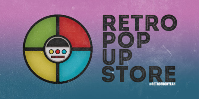 Retro Pop Up Store
