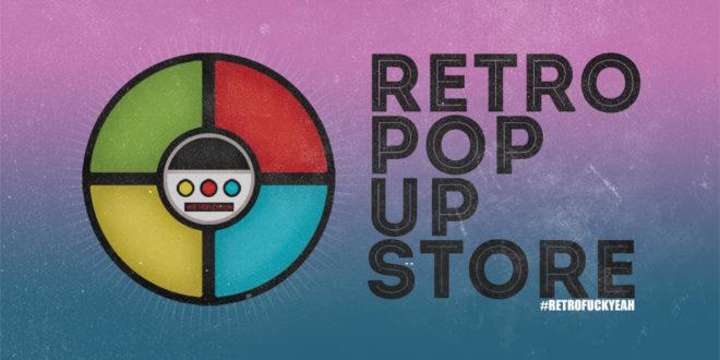 Retro Pop Up Store
